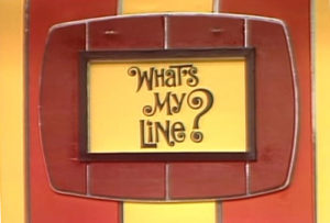 What's My Line
