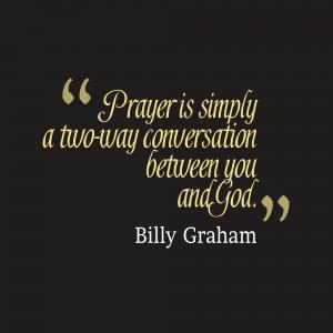 Prayer - Conversation