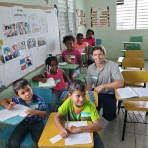 English class in Samana