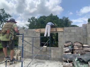 Church work site