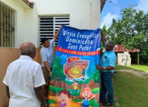 Banner at Juana Vicente